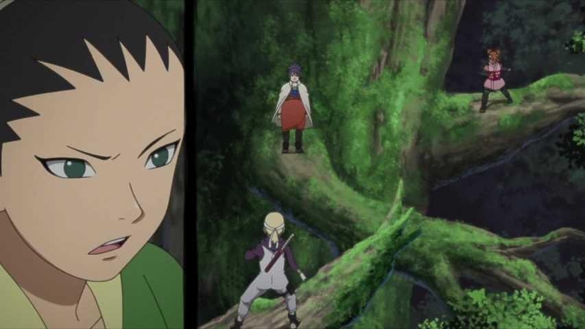 الحلقة السادسة والثلاثون 36 من أنمي بوروتو: ناروتو الجيل التالي Boruto: Naruto Next Generations مترجمة