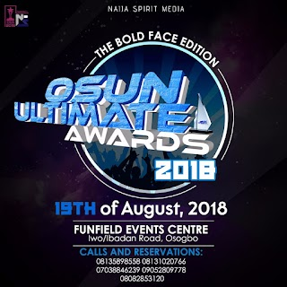 See full list of nominees for Osun Ultimate Awards 2018