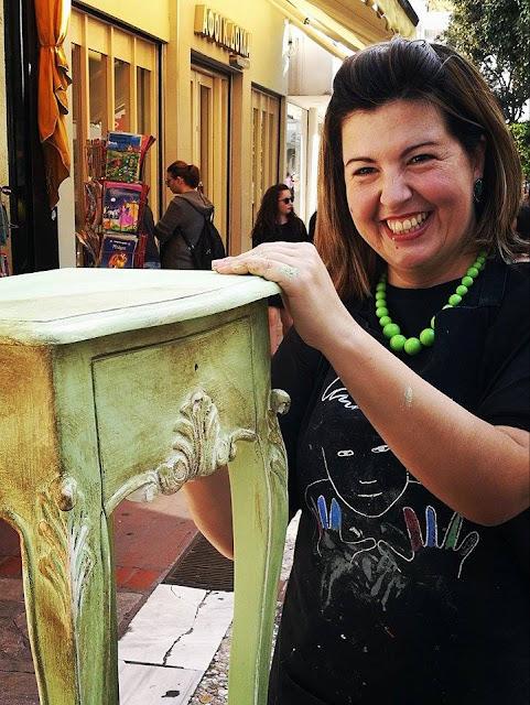 Fino Spiti Creations: Μαριάνθη Κάρτα 3 Annie Sloan Greece