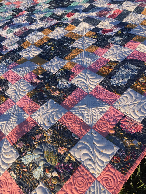 AGF Stitched with Kimberly: Timber @ Quilting Mod, Quilting by Quilt Icing