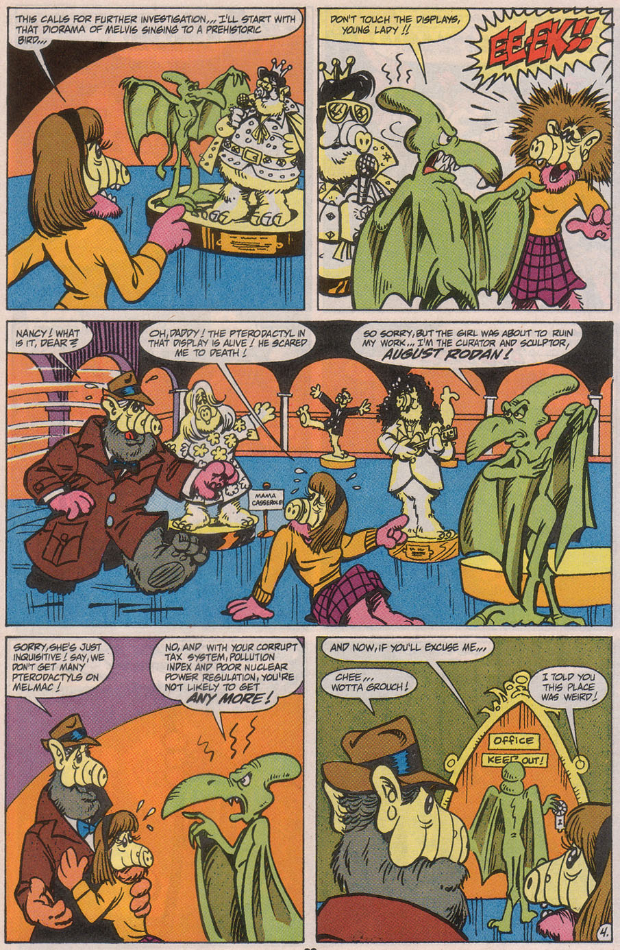 Read online ALF comic -  Issue #45 - 25