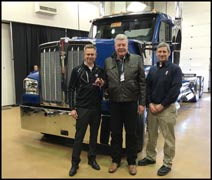 Kenworth W990 key ceremony