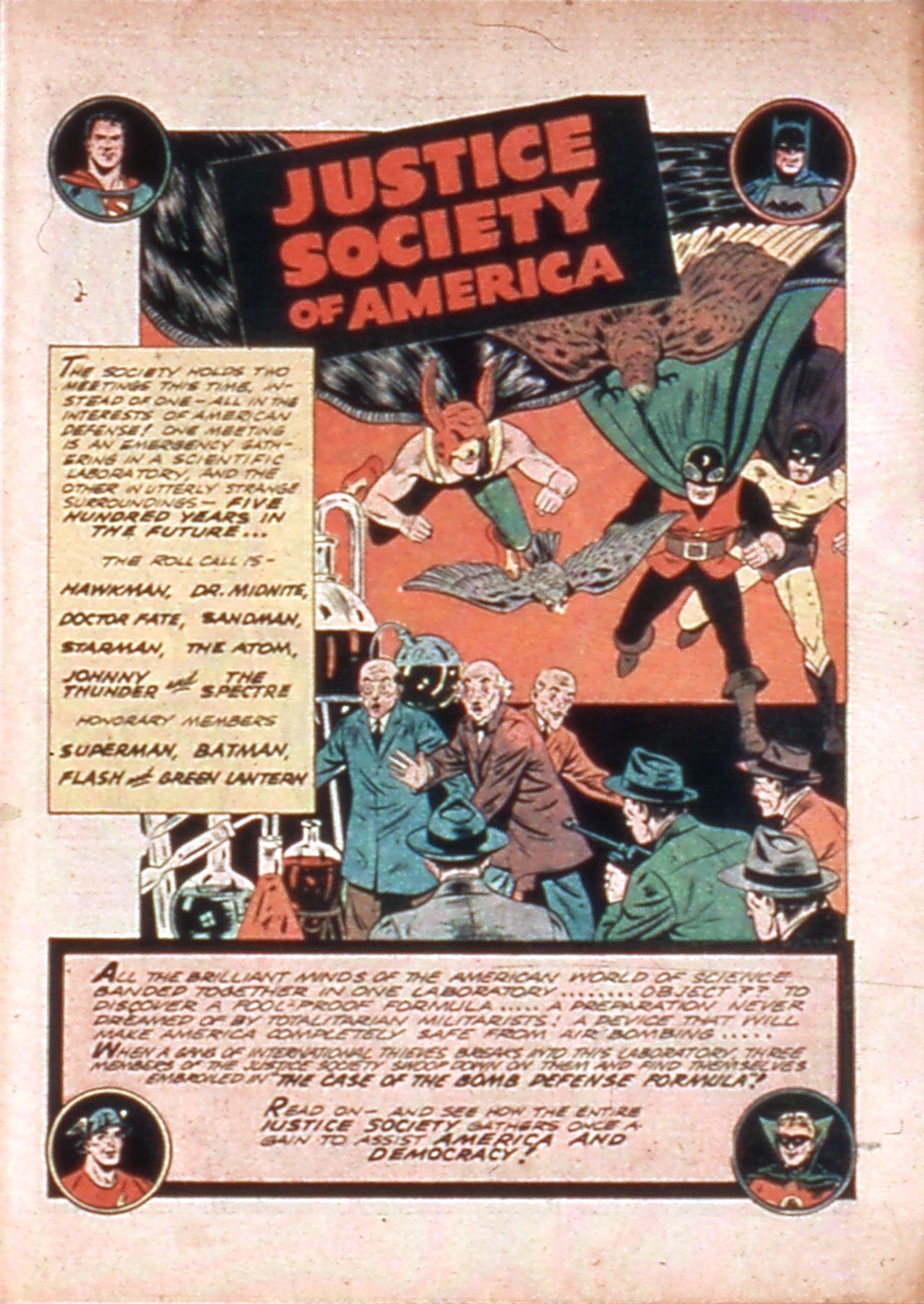All-Star Comics (1940) issue 10 - Page 3