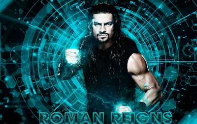 Roman Reigns Super Man Punch Wallpaper