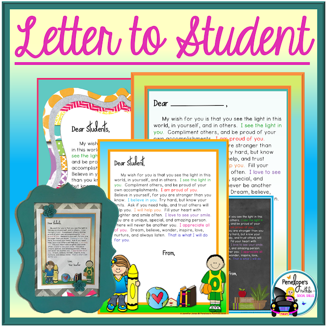 Letter to Student or Child