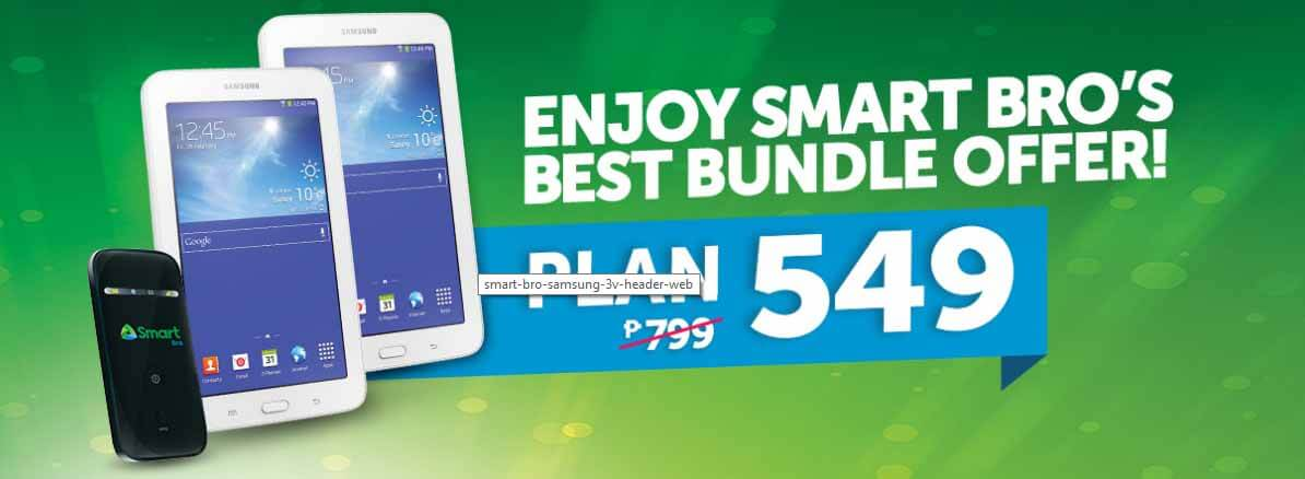 Smart Bro Plan 549 - Free 2 Samsung Galaxy Tab 3V and 4G ... Jollibee Sundae