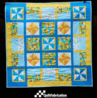 Ducks in the Pond quilt