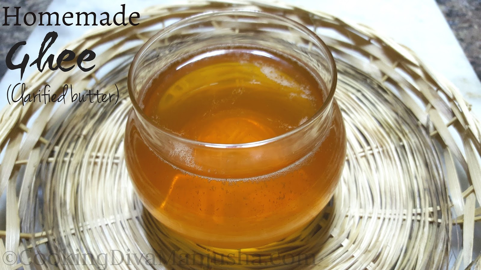 how to take ghee from butter