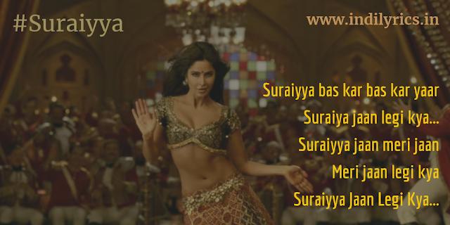 Suraiyya Jaan Legi Kya   Thugs Of Hindostan   Full Song Lyrics with English Translation and Real Meaning