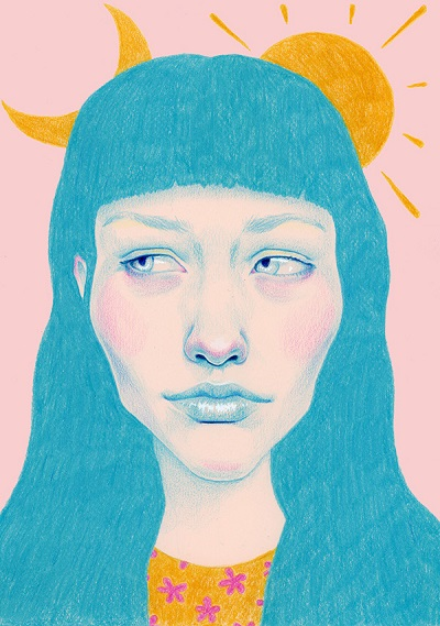 """The sun and the moon"" por Natalie Foss 