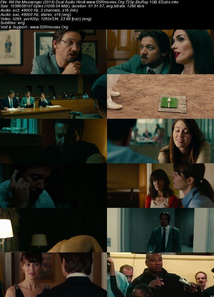 Kill the Messenger (2014) Dual Audio Hindi 720p BluRay