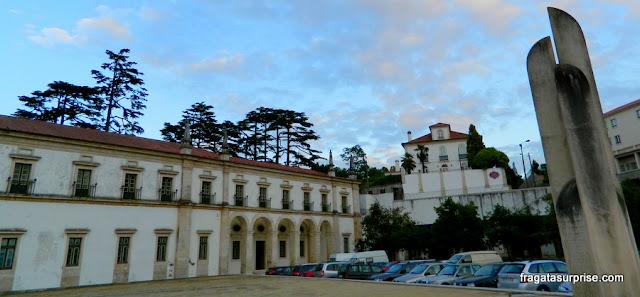 Fachada do Hotel Solar Cerca do Mosteiro, Alcobaça, Portugal