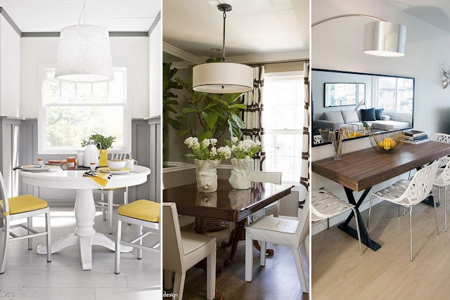 Elegant Dining Rooms For Very Small Spaces