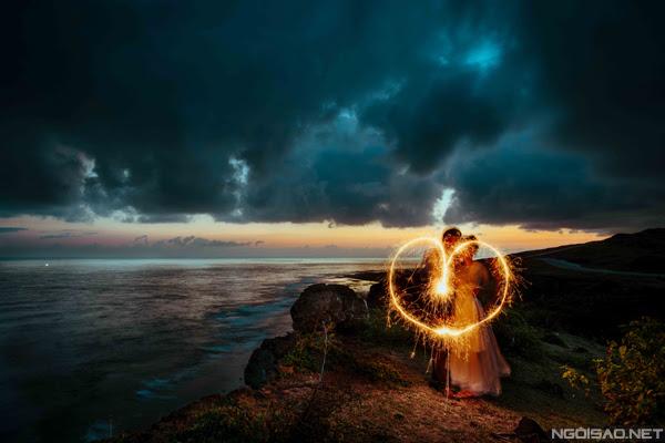 Chiêm ngưỡng bộ ảnh cưới thơ mộng trên đảo Lý Sơn - Hình 7