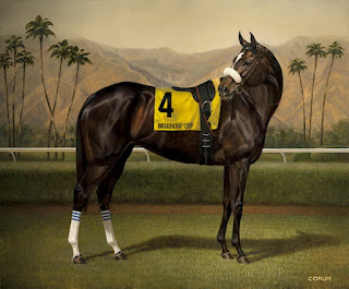 hiperrealismo caballo oleo pintura