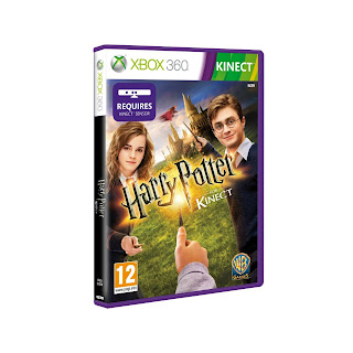 Harry Potter xBox Kinect cover