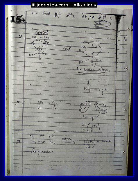 Alkadiens Notes5
