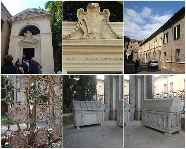 O que ver em Ravenna (Itália) além dos mosaicos? Tumba de Dante Alighieri