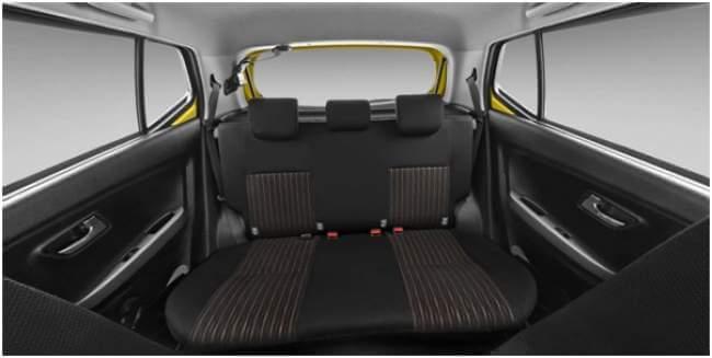 Tempat Duduk Toyota New Agya