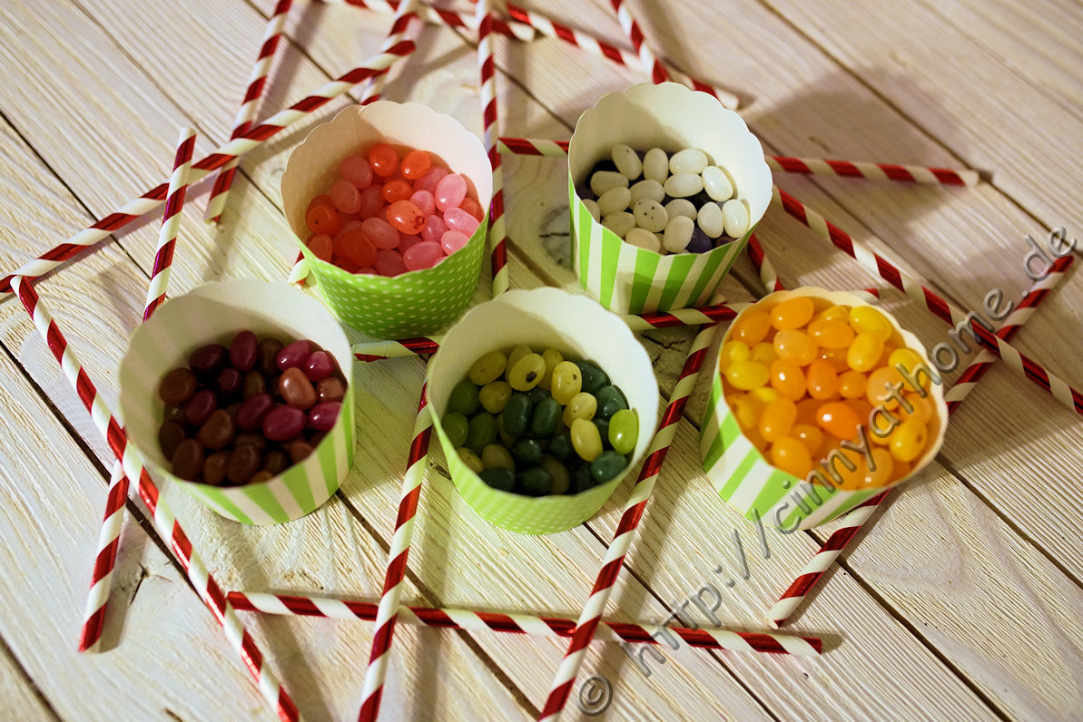 Jelly Beans Kombinationen
