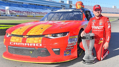 Allgaier's Summer Blitz Earns Regular-Season Title #NASCAR