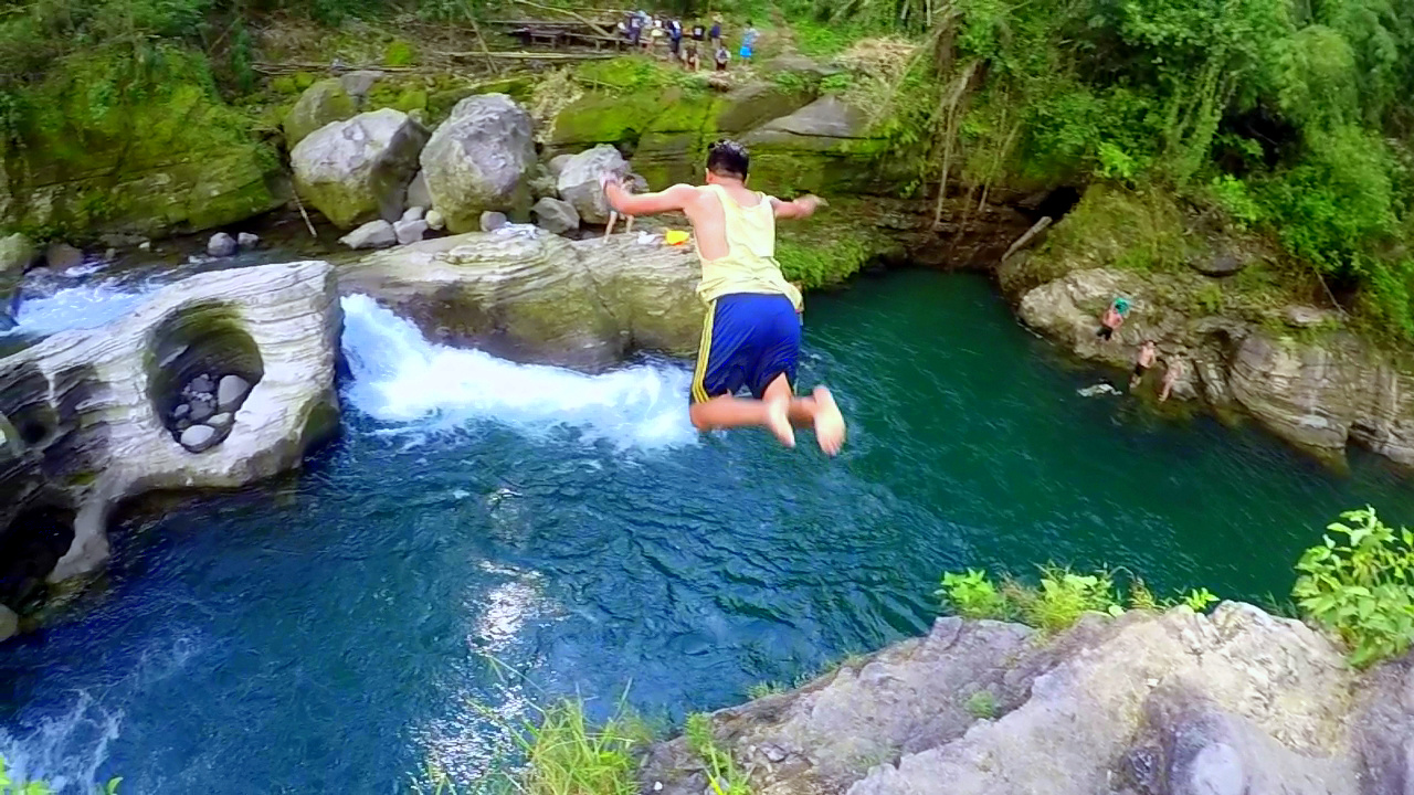 Cliff Diving Spot Tangadan Falls Baroro River