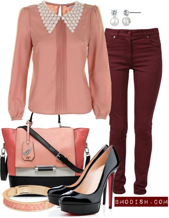 Офисный стиль для девушки: нескучные сочетания цветов и фасонов