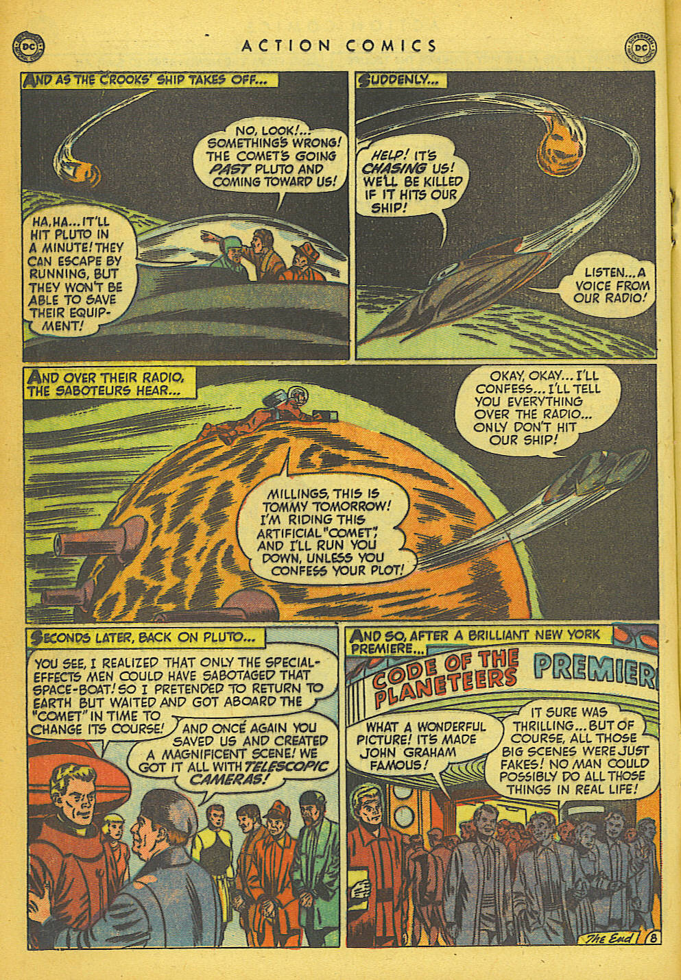 Read online Action Comics (1938) comic -  Issue #149 - 21