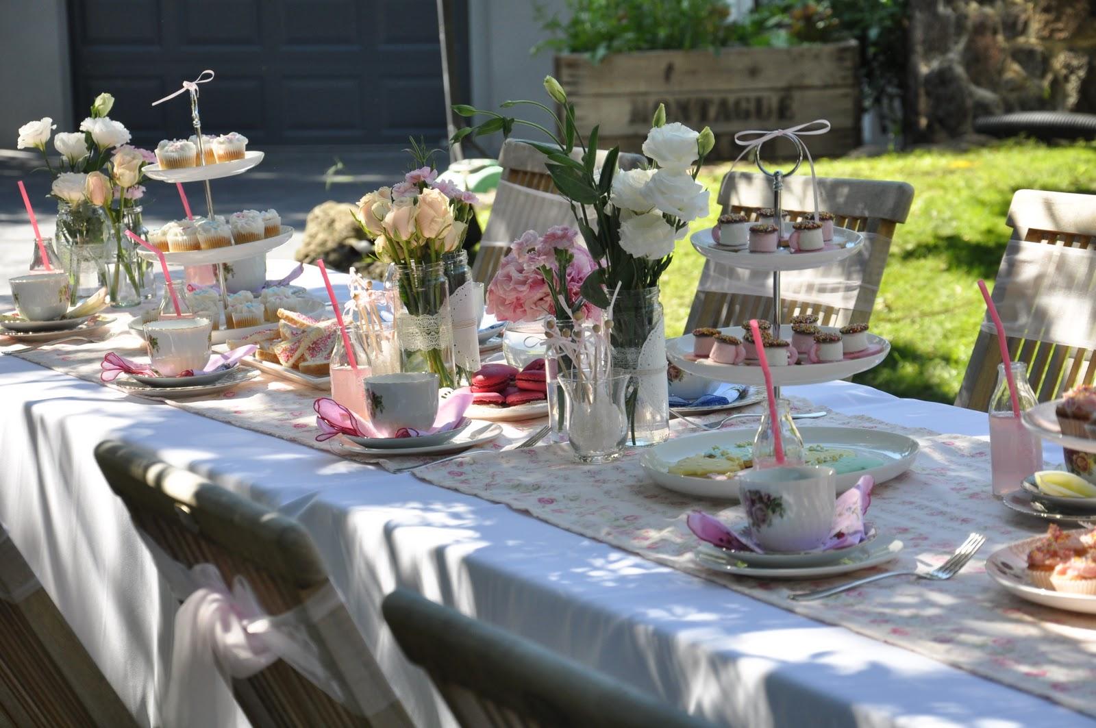 The Vintage Garden Tea Party Asian Wedding Ideas Summer Setting
