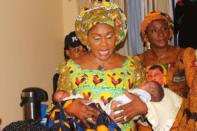 First Lady Surprises Woman Who Gave Birth To 5 Babies