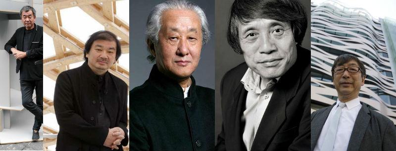 Arquitectos japoneses de primer orden