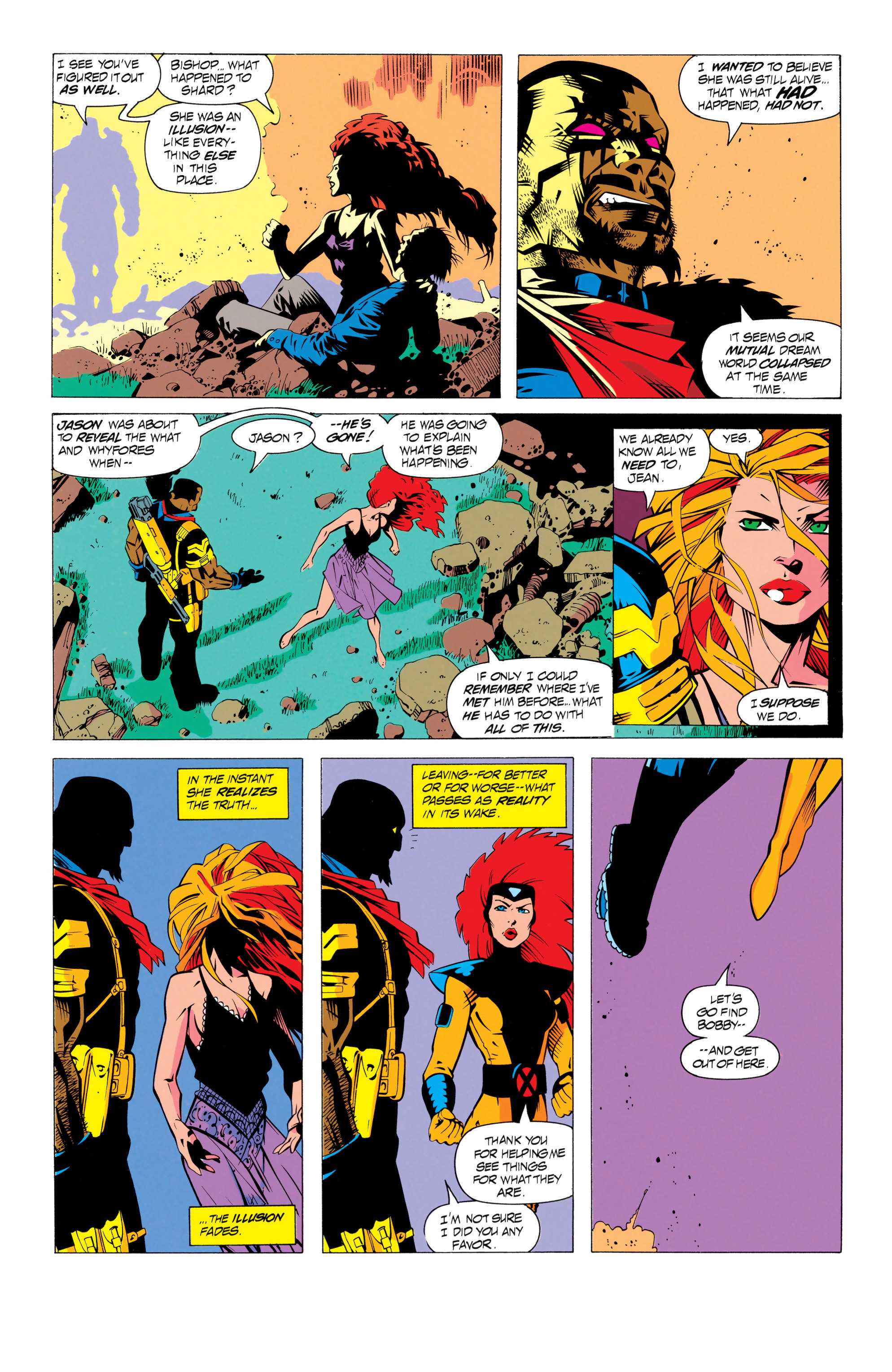 Read online Uncanny X-Men (1963) comic -  Issue # _Annual 17 - 27