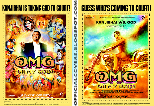 Latest Bluray & HD Covers: OMG / Oh My God Movie Official Posters