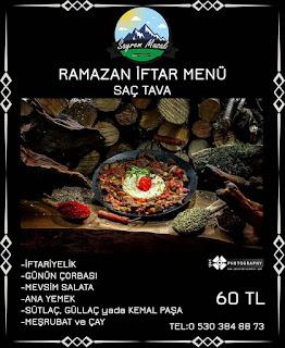 sayrem masalı kartepe maşukiye iftar menü fiyatları kocaeli kartepe iftar mekanları