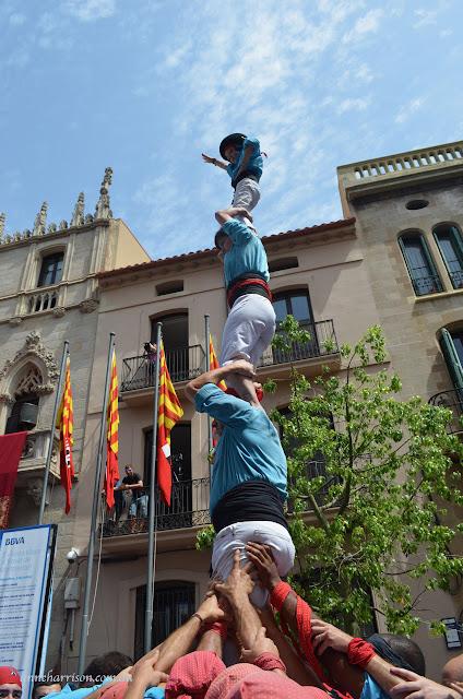 Castellers in  Terassa
