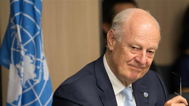 United Nations Syria envoy hopes for 'serious' negotiation between Damascus government, opposition