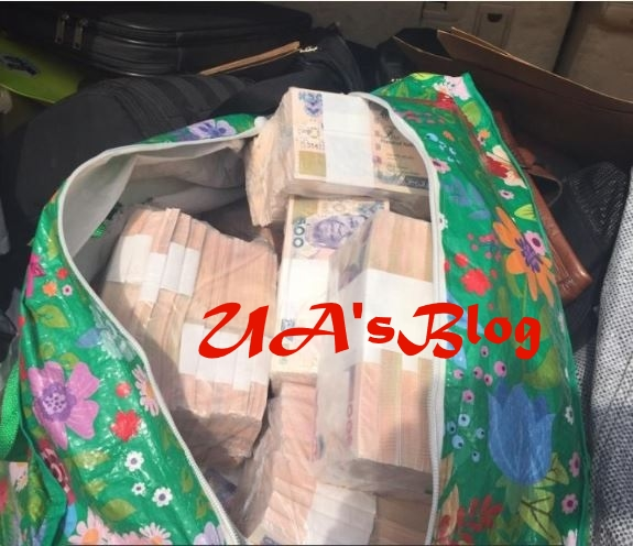 Bags Of Money Intercepted By EFCC Allegedly Belongs To Benue Gov Candidate (Photos+Video)
