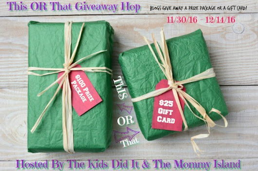 Win A Kids Space Bundle In the This OR That Giveaway Hop!