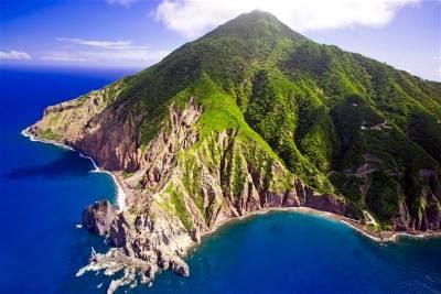 isla saba-Caribe