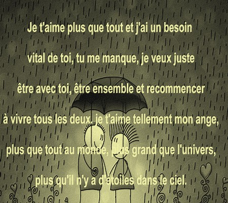 Long Texte D Amour Messages Damour