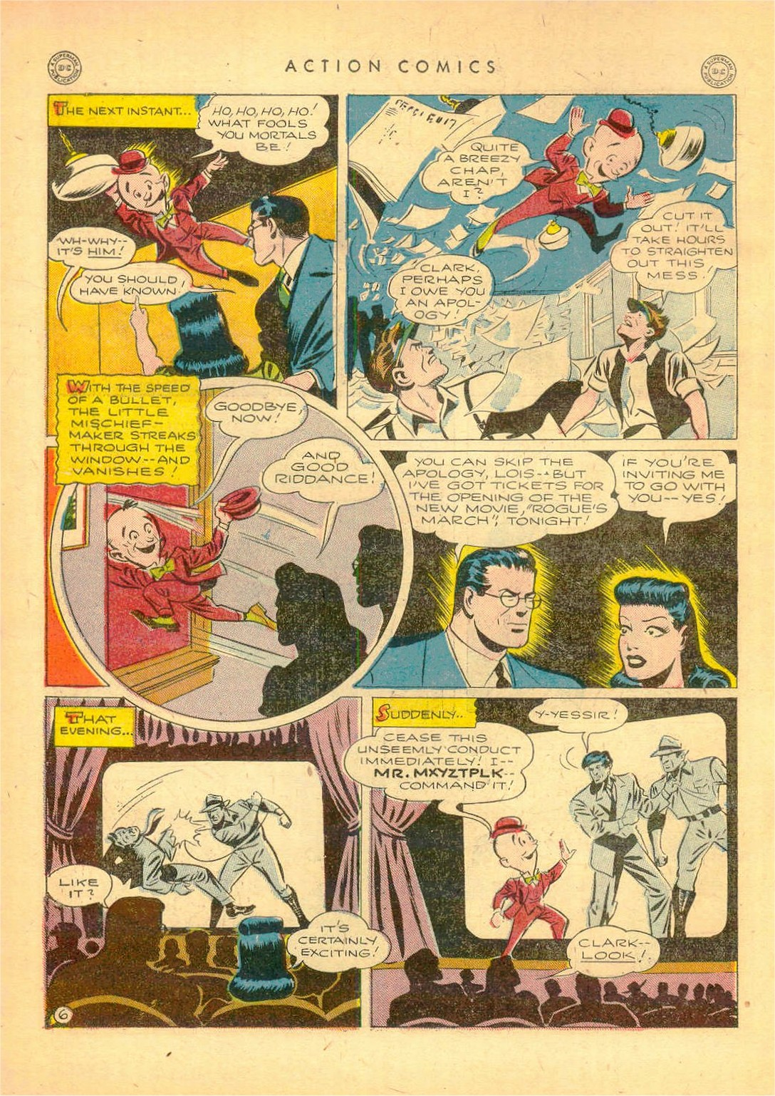 Read online Action Comics (1938) comic -  Issue #80 - 7
