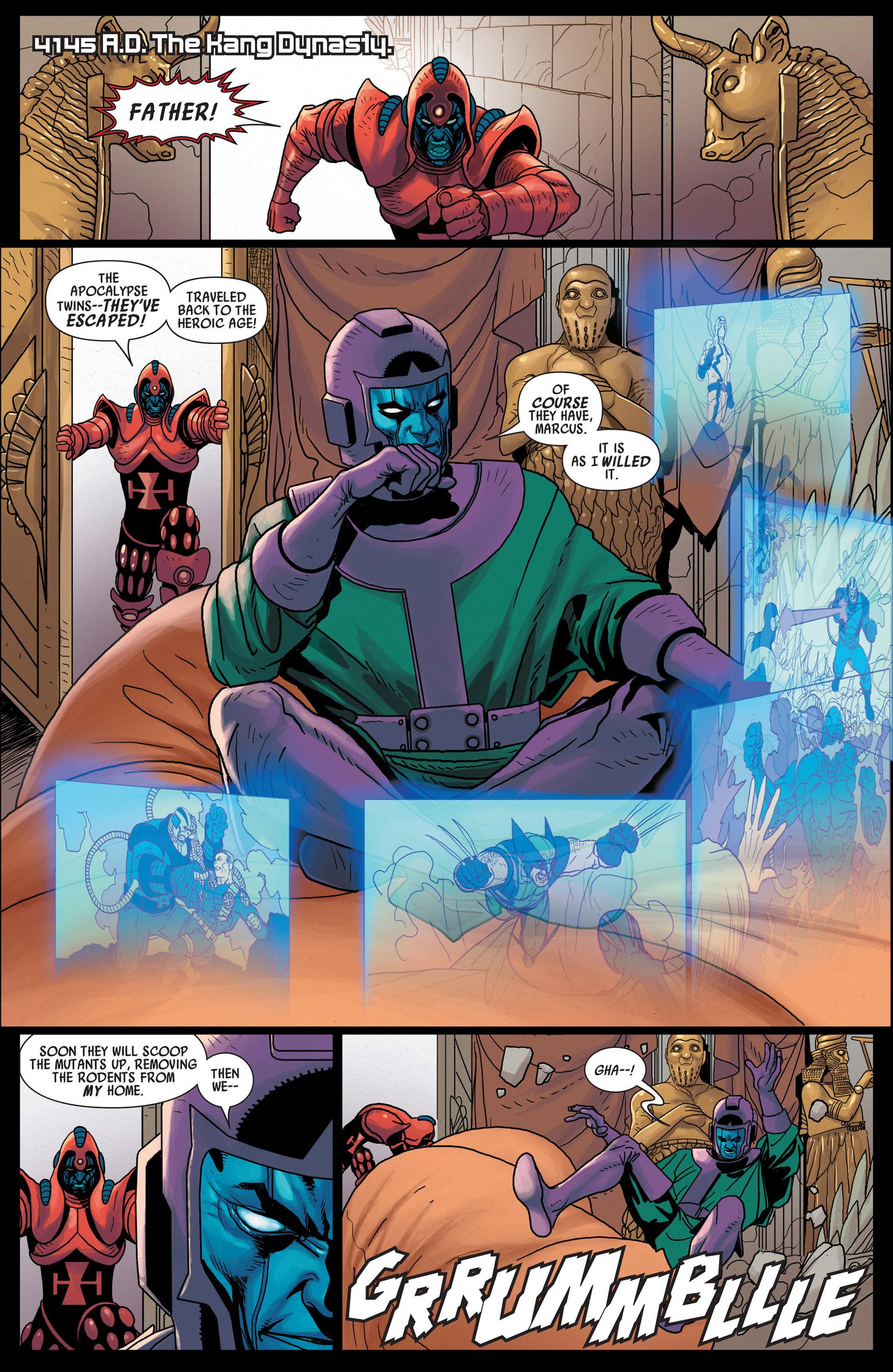 Read online Uncanny Avengers (2012) comic -  Issue #12 - 20
