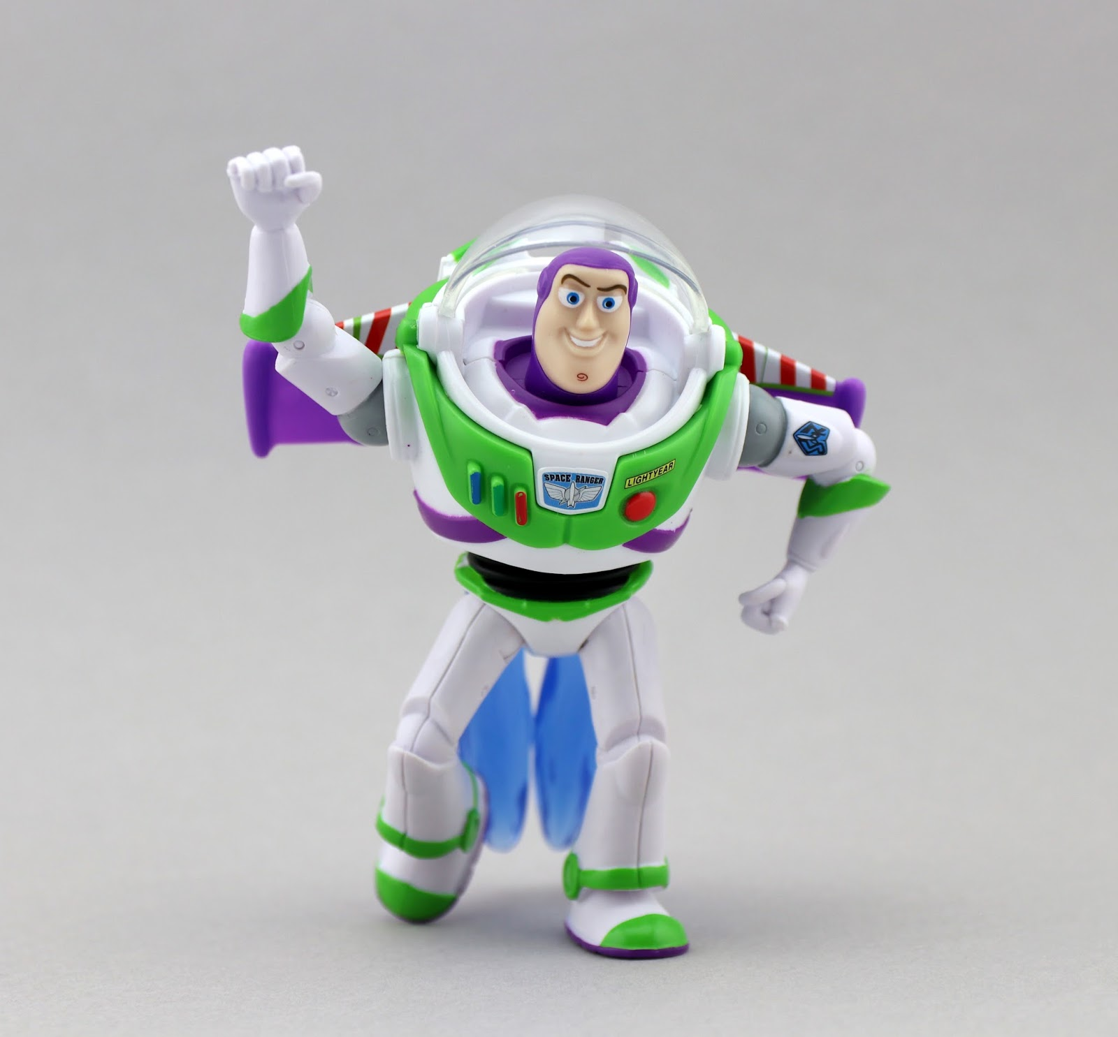 toy story blue flame buzz figure