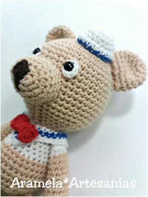 oso amigurumi crochet