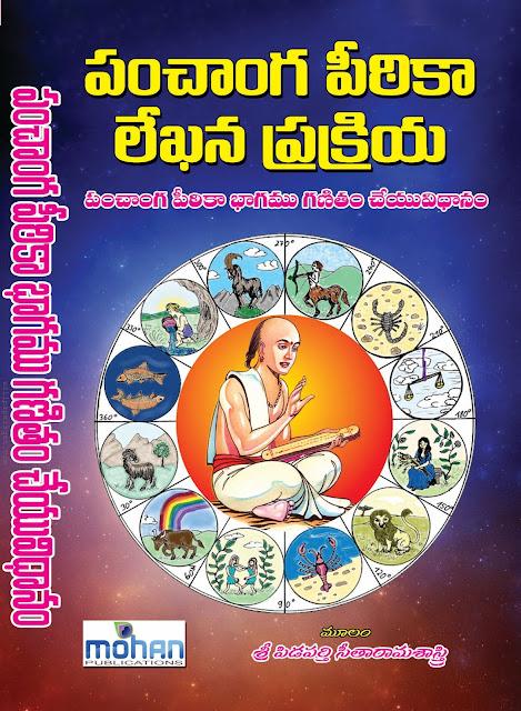 పంచాంగపీఠీక లేఖికాగణితం | Panchanga Pitika Lekhika Ganitam | GRANTHANIDHI | MOHANPUBLICATIONS | bhaktipustakalu
