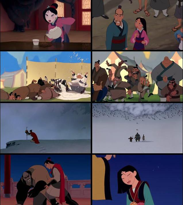 Mulan 1998 Dual Audio Hindi 480p BluRay