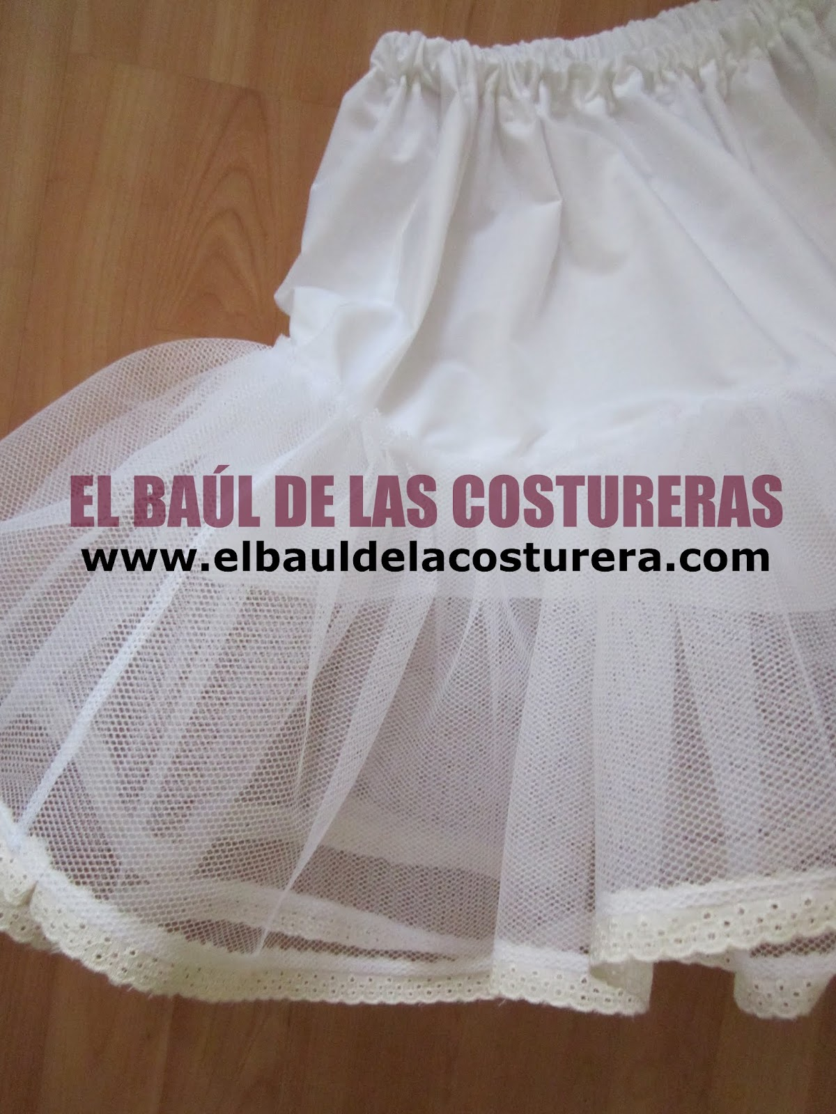 Enagua f cil para vestido de baile - Como preparar una comunion en casa ...