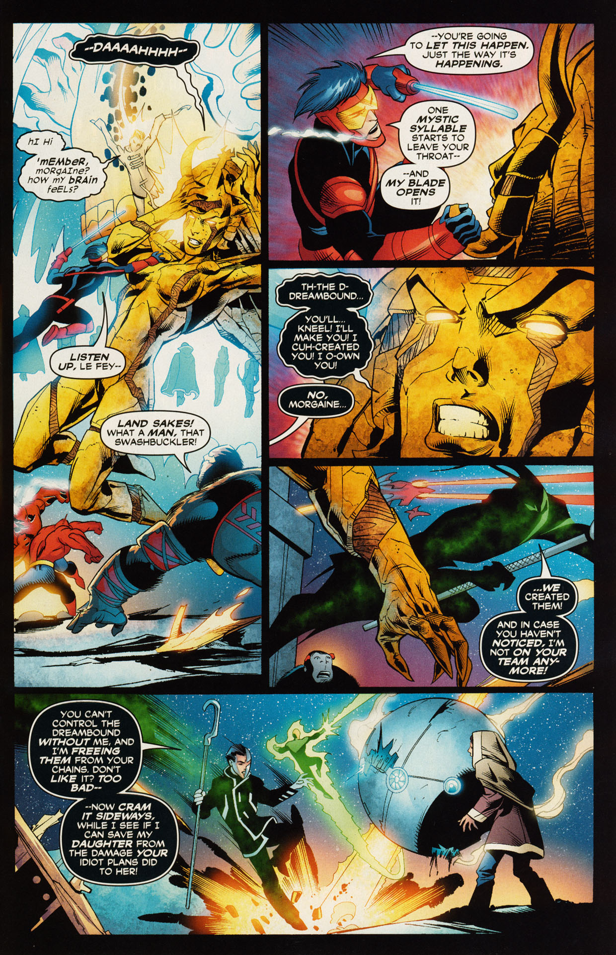 Read online Trinity (2008) comic -  Issue #49 - 6