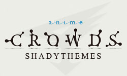 Free WordPress Theme: Anime Crowds