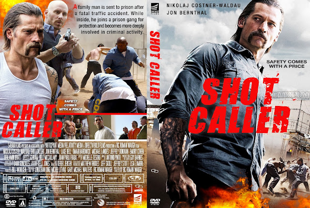 Shot Caller DVD Cover